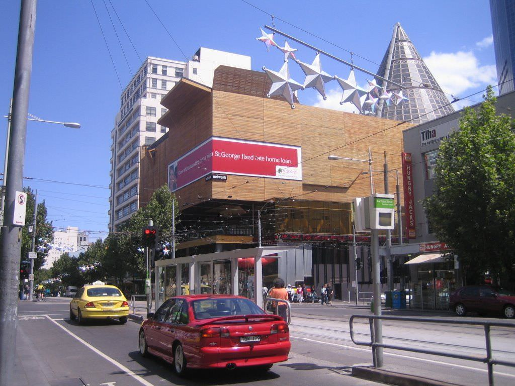 melbourne central shopping center 3