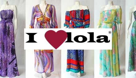 I Love Lola – Vintage clothing and Grecian Dresses 2012