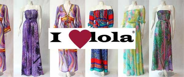 I Love Lola – Vintage clothing and Grecian Dresses 2012