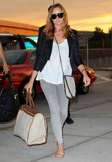 Airport Fashion Tips On How To Stay Stylish Comfortable For Your Flight
