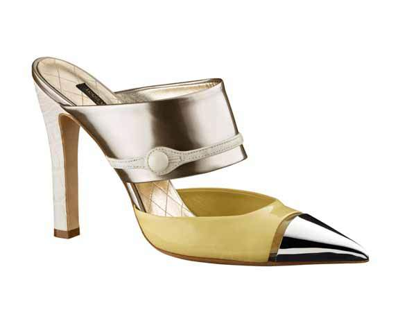 Pointed metal Tip courts Louis Vuitton 3