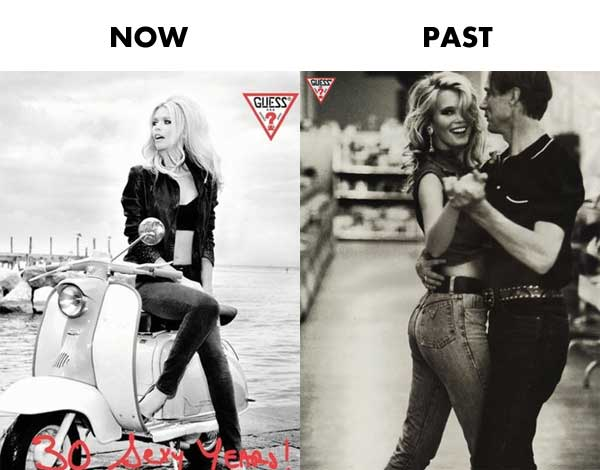 Claudia Schiffer Now Past 1960's fashion