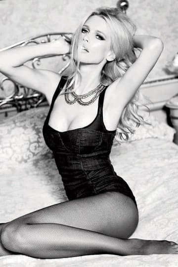Claudia Schiffer Now Past 1960's Guess  fashion Shoot 2012