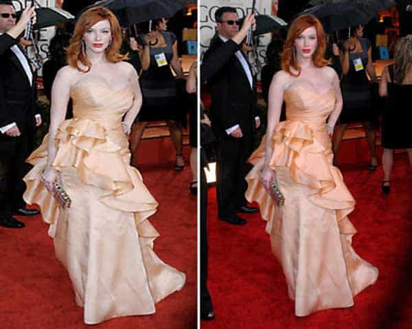 Christina Rene Hendricks - The Plus Size Woman Who Knows How To Dress - red carpet