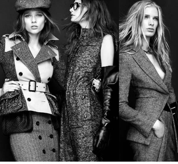 Burberry Joseph - tweed suits for women