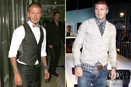 David Beckham Fashion Style - For Men To Learn By (1)