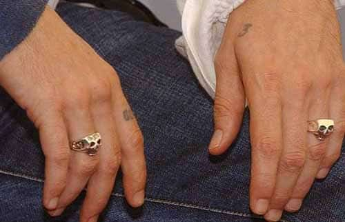 Johnny Depp Style - Tips 2 - Skull Rings