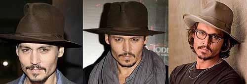 Johnny Depp Style - Tips 4 - Hats & Glasses