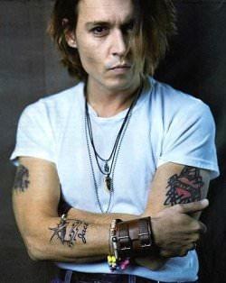 Johnny Depp Style - Tips 1 - tattoos