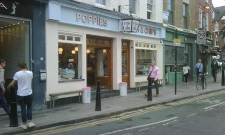 Spitalfields London – The Best Fish And Chips 1950s Style