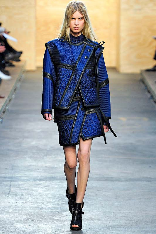 Proenza,Schouler 2012 winter collection,gracie opulanza