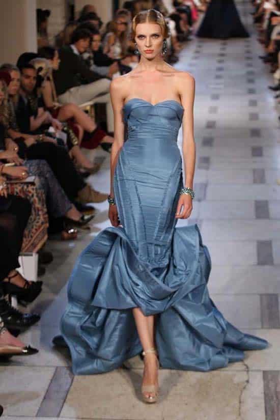 Corset Dresses - catwalk runway