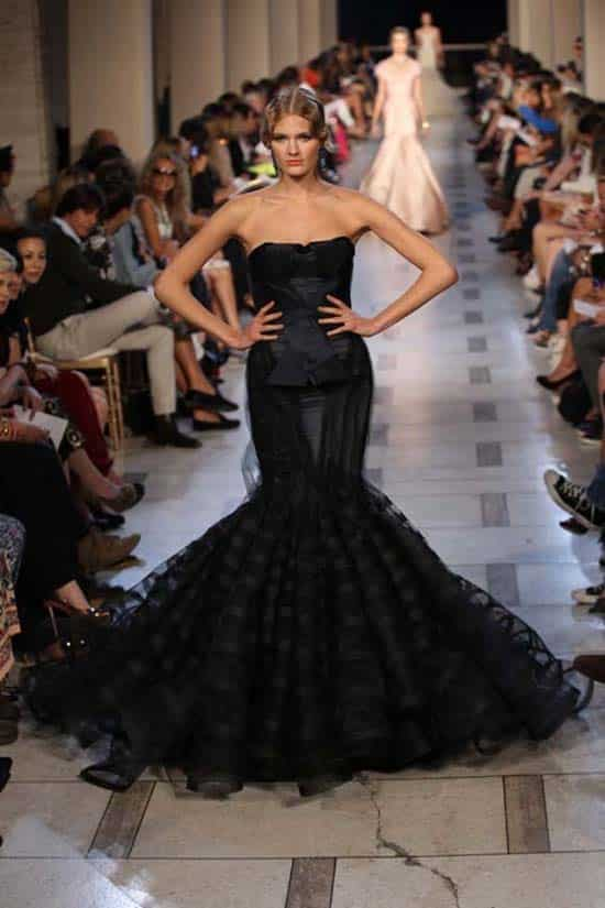 Corset Dresses - catwalk runway Zac Posen