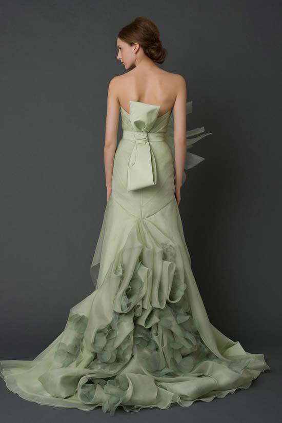 Corset Dress - vera wang 2012 collection