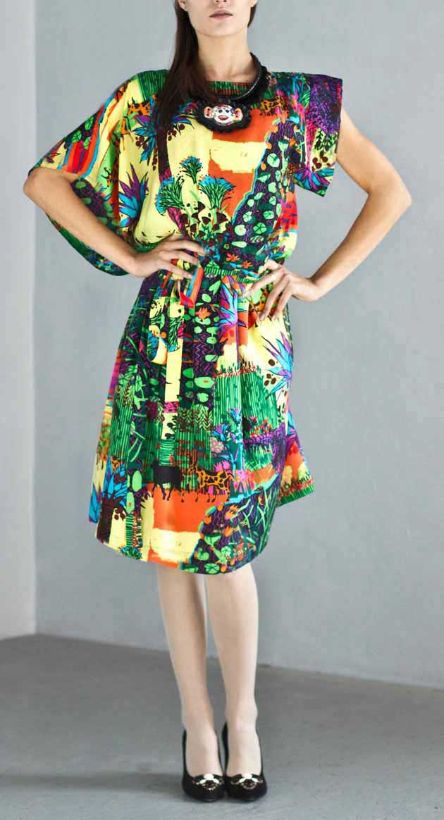Daiva Urbonaviciute 2012 summer collection