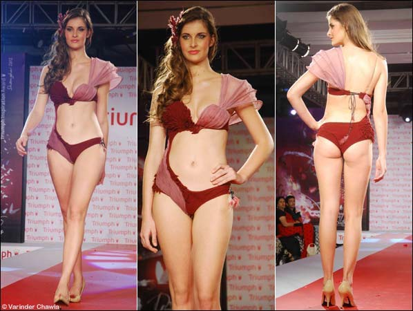 Truimph – Gorgeous Bridal Lingerie For 2012