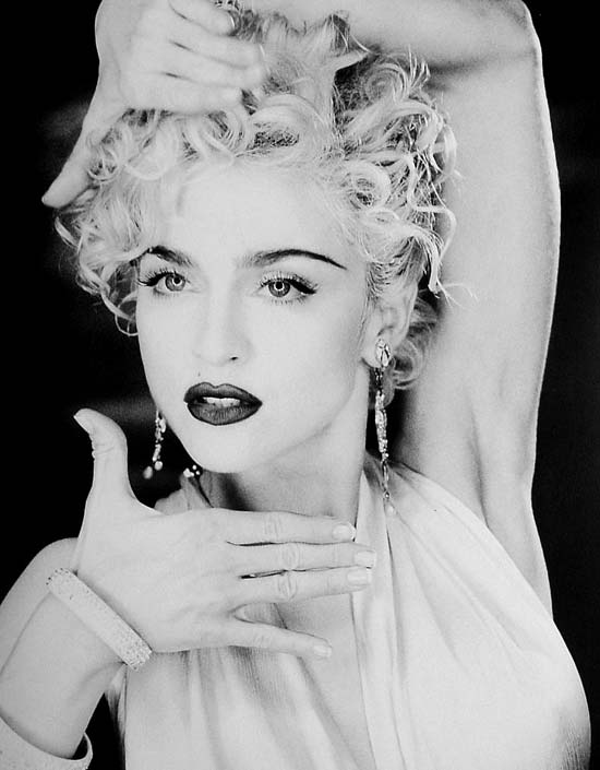 Madonna fashion icon - vogue 1990