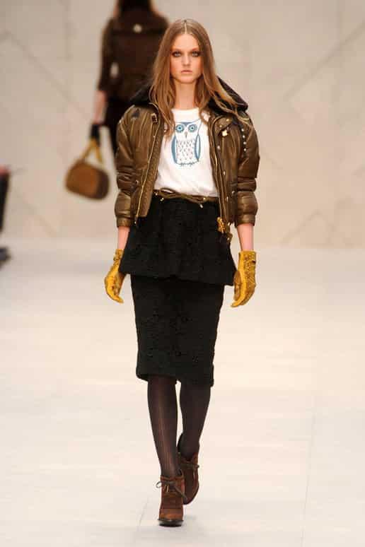 BURBERRY-PRORSUM-FALL-2012 gold jacket