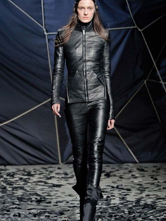 Gareth Pugh Fall Winter 2013 Collection Leather