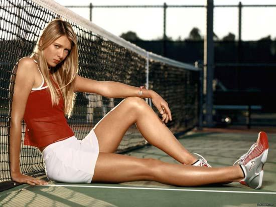 Maria Sharapova sports wear nike