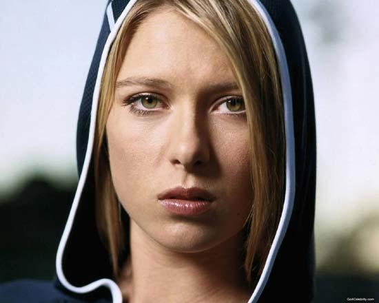 Maria Sharapova - tennis hoodie