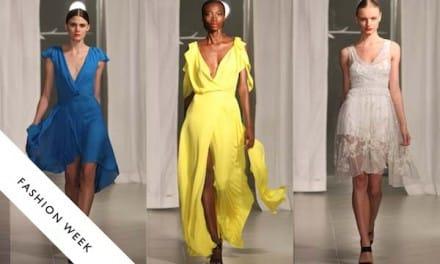 Sunhee Hwang – Gorgeous Silk Full Length Dresses 2012