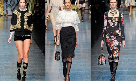 Dolce & Gabbana – Opulent Womens Lace Fashion 2013