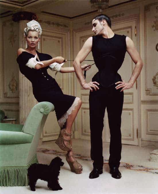 Gabriel Moginot, Kate Moss Tim Walker Ritz Vogue USA April 2012