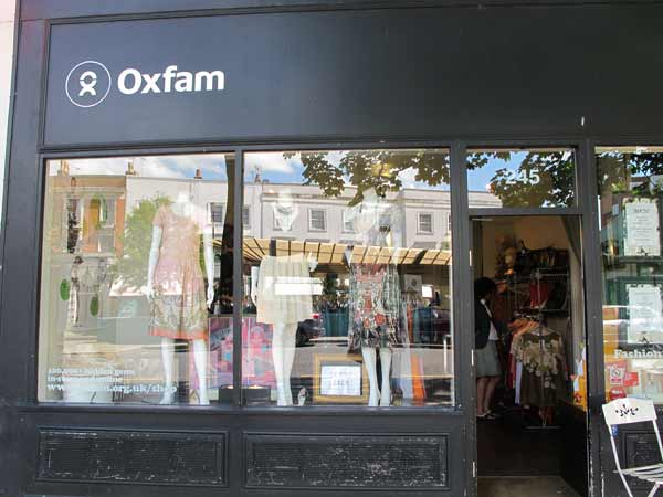 Oxfam UK – Has Never Looked So Chic & Labels Too Die For