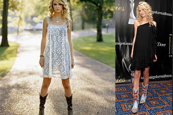 taylor-swift,wearing-cowboy-boots