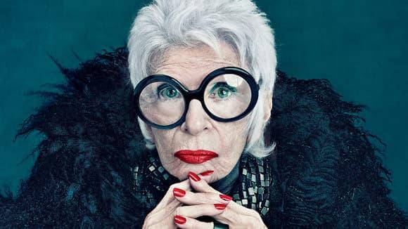 Iris-Apfel-for-Mac-Cosmetics, fashion icon