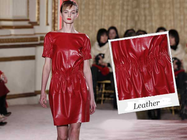 Leather - How Ladies Wear Leather This Winter