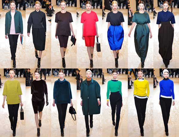 1960s-fashion-trend-Jil-Sander-Fall-Winter, 2012-Fashion