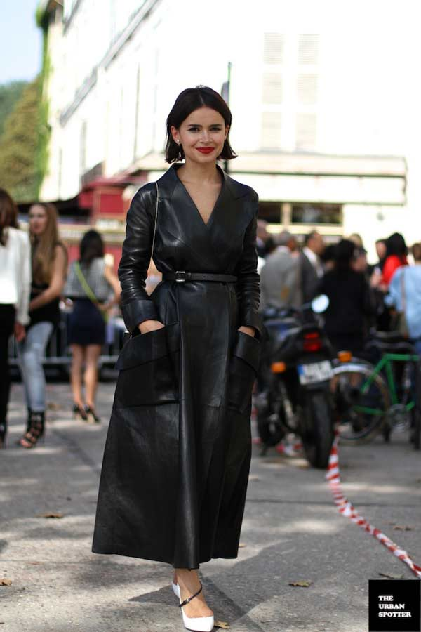 Asos Dolly Skater Dress In Leather Gracie Opulanza