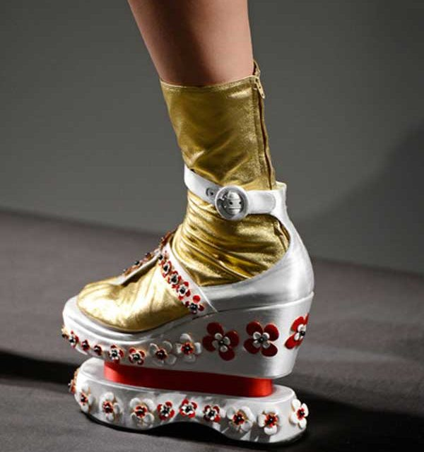 Prada – Sixties, Sock,Thongs & Asian Prints