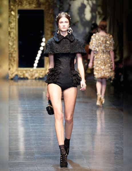 Dolce & Gabbana - Opulent Womens Lace Fashion 2013 (11)