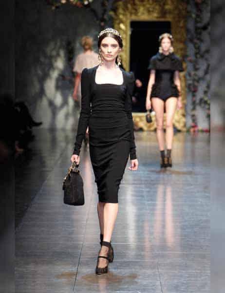 Dolce & Gabbana - Opulent Womens Lace Fashion 2013 (12)