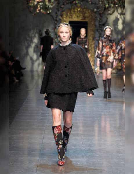 Dolce & Gabbana - Opulent Womens Lace Fashion 2013 (5)