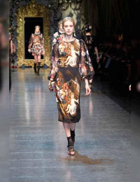 Dolce & Gabbana - Opulent Womens Lace Fashion 2013 (8)