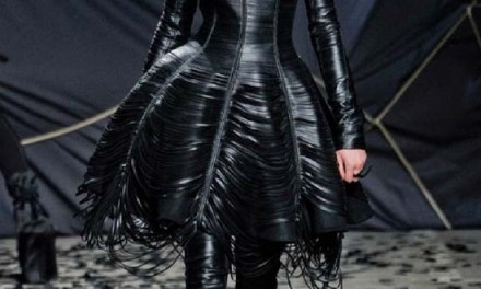 Gareth Pugh – Leather Rock Chic Fashion