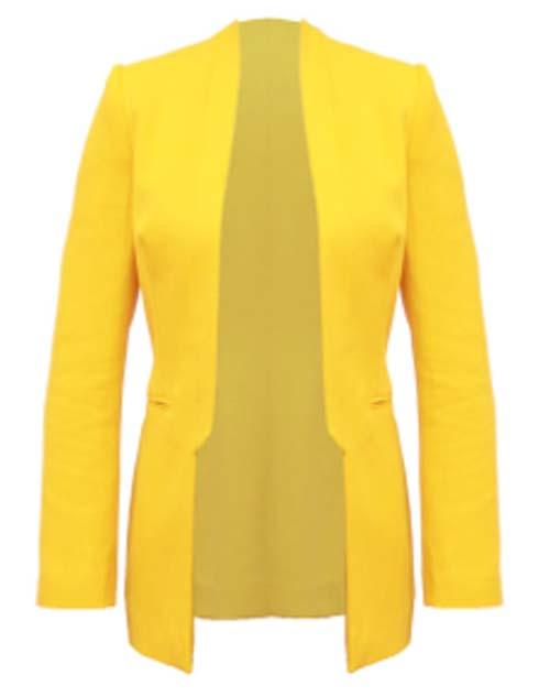 Zoe Jordan - Yellow Blazer