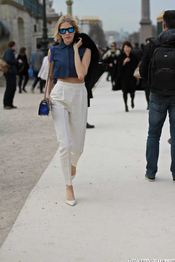 white trousers - for women 2013