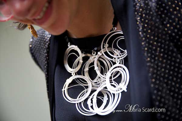 Kristina Goes West - Sonata Bylaite necklace