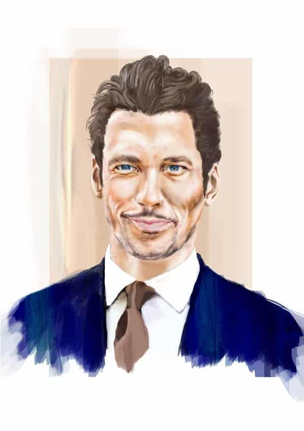 David Gandy - Blue Steel Appeal Charity