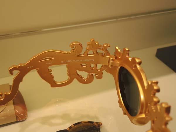 Linda Farrow - Gold eyewear Optica Toscana