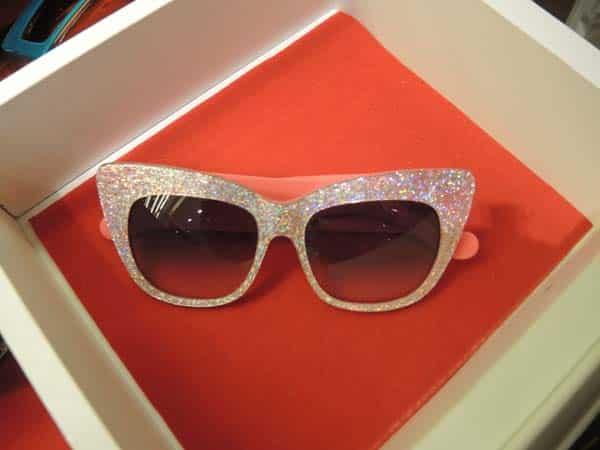 Optica Toscana Eyewear Barcelona glitter frames