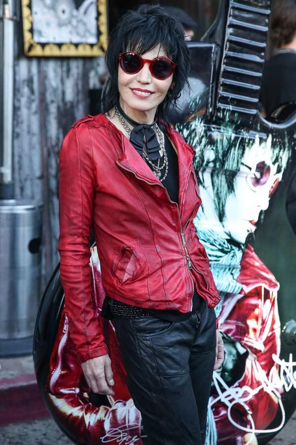 Joan Jett Rock Star Icon Returns Gracie Opulanza