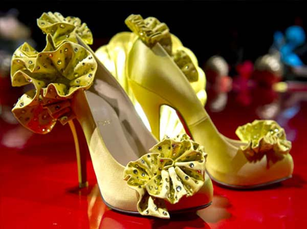 Christian Louboutin Red Sole yellow