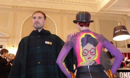 Body Art – Gracie Opulanza At London Fashion Week
