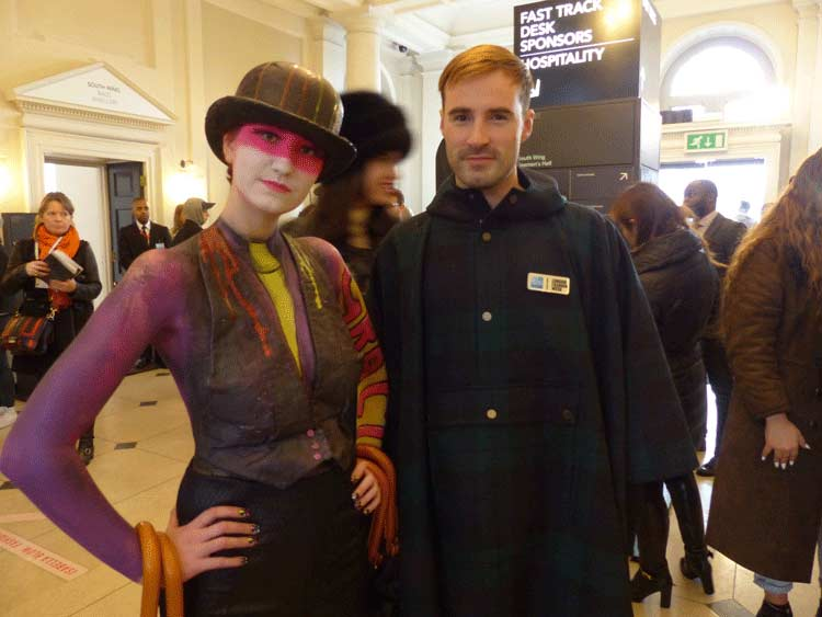 Body Art Gracie Opulanza - London fashion Week
